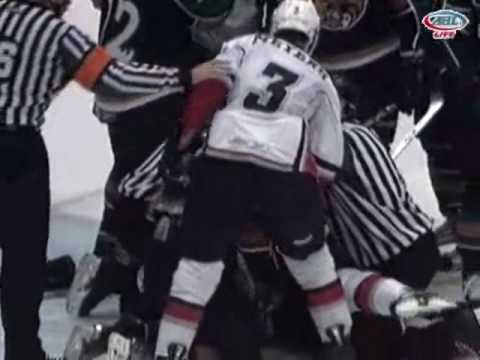 1-13-10 Manitoba Moose vs. Abbotsford Heat Scrum Video