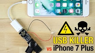 USB Killer vs iPhone 7 Plus - Instant Death?