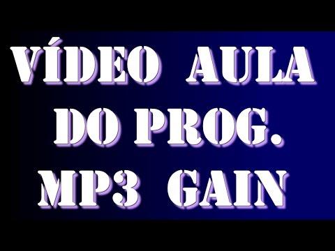 Vídeo Aula do MP3Gain 1.2.5
