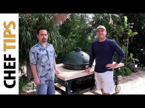 Big Green Egg Tables - Custom BBQ Tables