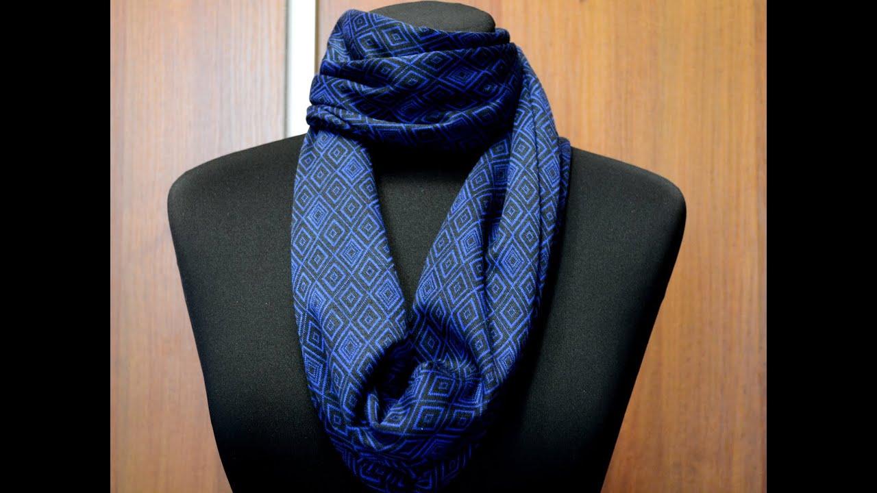 Как сделать хомут шарф своими руками