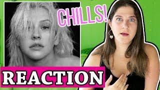 Fall In Line - Christina Aguilera ft Demi Lovato | REACTION MP3