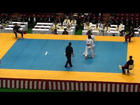 Tariel Nikoleishvili vs James Eades @ 10th World Open Kyokushin Karate Tournament Image 1