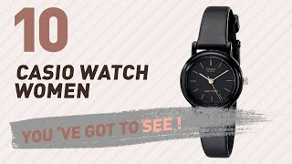 Casio Watch Women Top 10 // New & Popular 2017