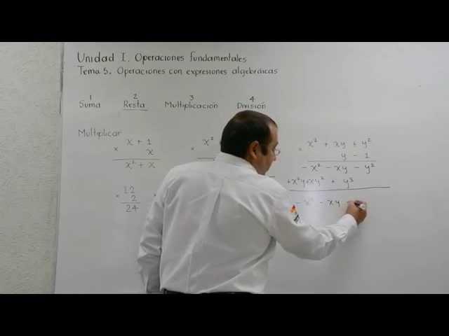 Multiplicación de polinomios, explicación muy básica