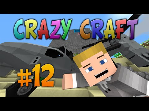 MINECRAFT: CRAZY CRAFT 2. 0 #12 «TIME TO FLY!» w/PrestonPlayz