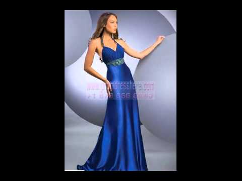 2012 New Arrivals Blue Affordable Prom Dresses.41. video