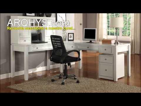 ¿Cómo decorar una sala de estudio en casa? Decoración, colores, mobiliarios, etc.