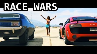 GTA V - Fast and Furious 7 Race Wars Scene