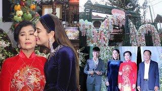 Đám cưới Lâm Khánh Chi - Không khí nhộn nhịp ngập tràn hạnh phúc trong đêm nhóm họ tại nhà gái