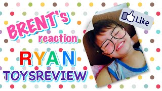 BRENT'S REACTION VIDEO to RYAN TOYSREVIEW    ❤️ IVY SHEEN ❤️