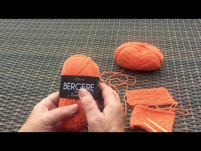 Вязание  для начинающих урок номер 1. Набор петель.