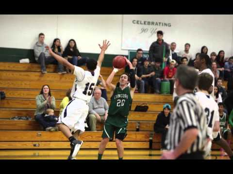 Concord Academy Varsity Boys' Basketball 2012 2013