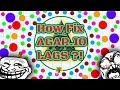 HOW FIX LAGS IN AGAR.IO ? 100% WORKING !!