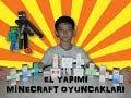 El Yapımı Minecraft Oyuncakları(Yapımı Çok Kolay Az Maliyetli)