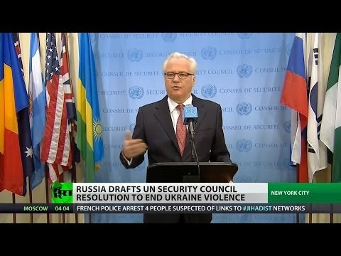 Russia clashes with West over Ukraine in the UN