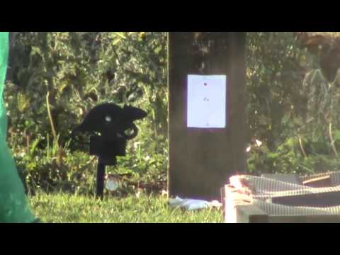 HW100 S shooting a 45 metre group with rws super field pellets with Si Pittaway.mp4