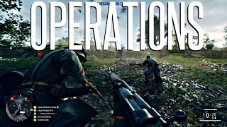 FIRST OPERATION!  - Battlefield 1 Operation Gamemode