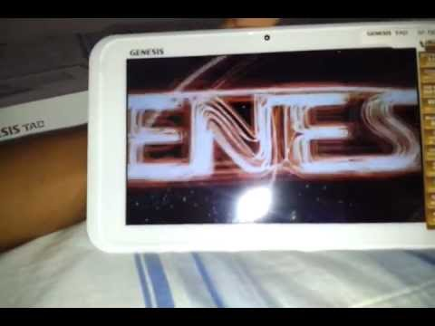 unboxing tablet genesis gt 7240 branco