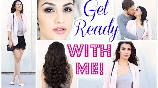 GET READY WITH ME FOR A DATE / NIGHT OUT 2015 ♥ KINDOFROSY