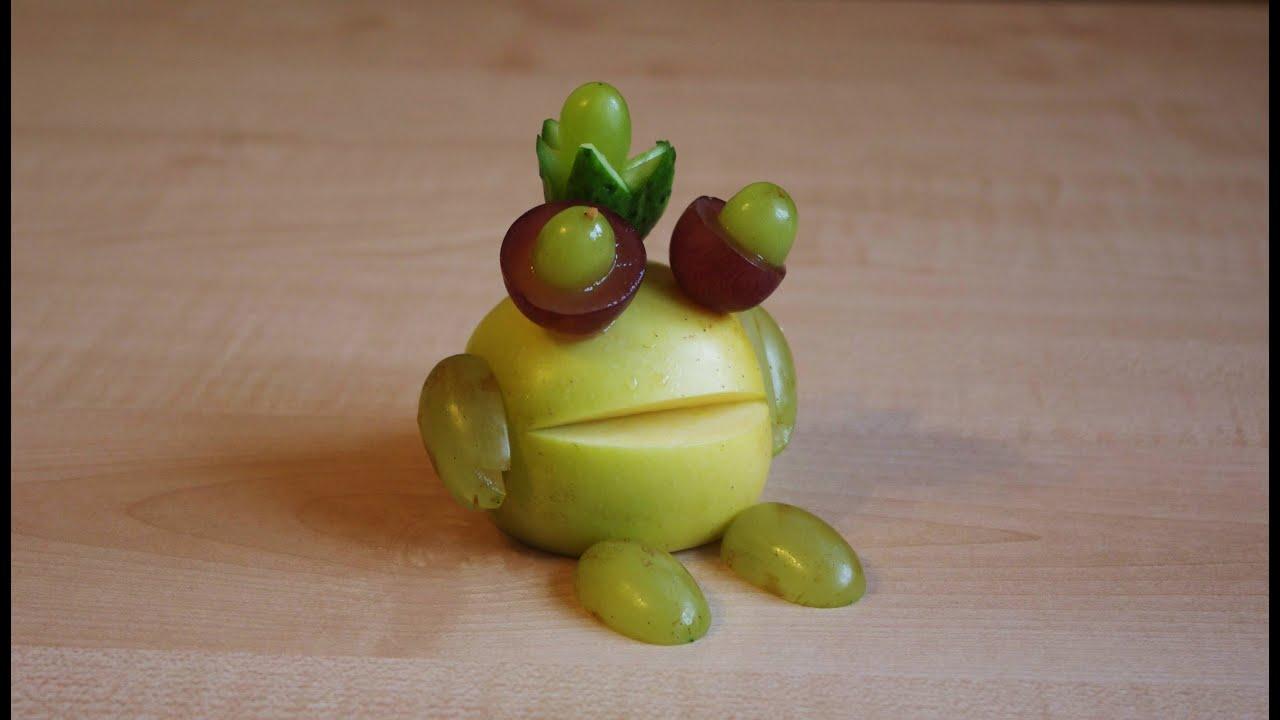 Поделки из овощей и фото как делать