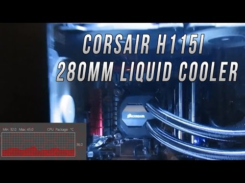 Corsair H115I Liquid CPU Cooler Review and Installation Guide