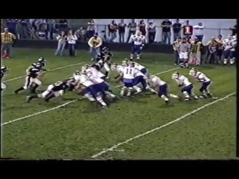 Eric Hasse #14 2007 Junior Year Highlight Film Evart High School Football