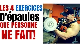Musculation : 4 Exercices D