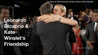 Proof that Leonardo DiCaprio & Kate Winslet 's friendship is true love - Oscars