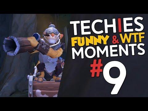 Techies WTF & Funny Moments #9 - DotA 2
