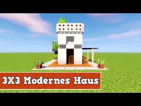 Wie Baut Man Ein Kleines Modernes Haus In Minecraft Minecraft - Minecraft videos hauser bauen