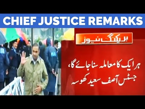 We Will NOT Let This Case Delay - Justice Asif Intends to Finish Panama Case Soon
