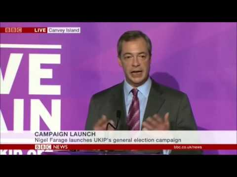 Nigel Farage Over the Years
