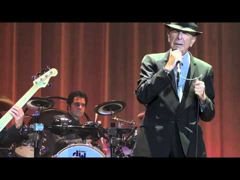 So long Marianne, sung by Leonard Cohen at the Olympic stadium in Amsterdam on August 21st 2012.