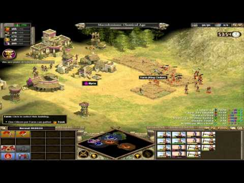 Let's Play Rise of Nations Alexander (P1) HD