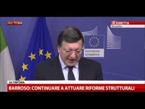 Bruxelles 2.5.2013: Conferenza tra Emanuel Barroso – Enrico Letta