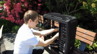 Cooler Master Haf-X XL-ATX Gaming Computer Case Unboxing & First Look Linus Tech Tips