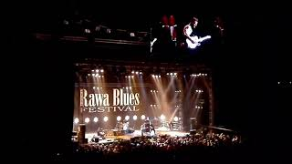 Kriss Barras Band live in Katowice Poland at Rawa Blues Festival 2017