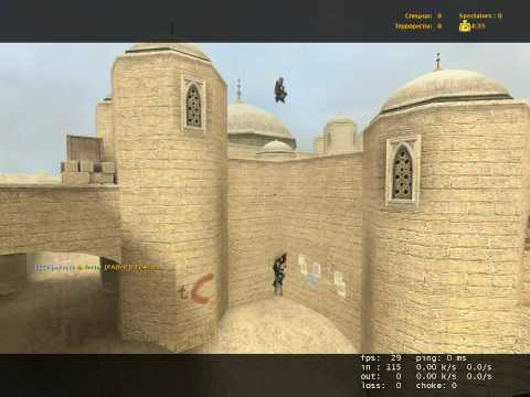 CSS PRO jumping (de_dust2 unlimited)