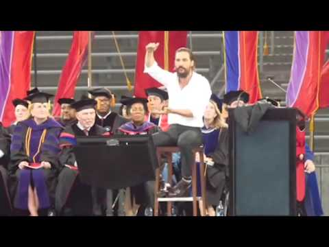 Matthew McConaughey University of Houston Speech