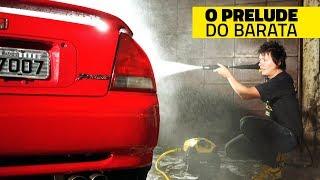 OS DETALHES DO HONDA PRELUDE DO BARATA: preparação e modificações futuras!
