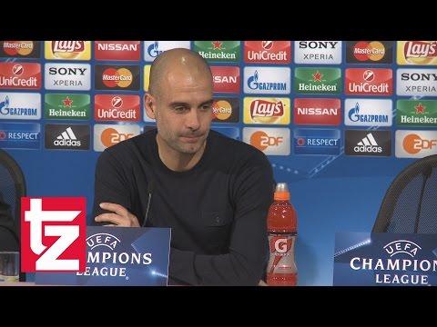 """FC Bayern vs. Atlético Madrid - Pep Guardiola: """"Wir brauchen unsere beste Leistung"""""""