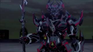 Garo The Vanishing Line Sword vs The Dark KnightEn