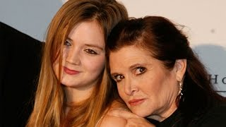 Carrie Fisher's Daughter Billie Lourd Confirms She's Not Young Princess Leia in