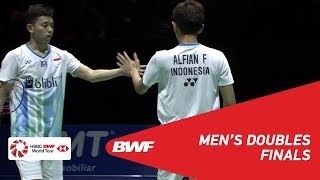 F | MD | LEE/WANG (TPE) [8] vs ALFIAN/ARDIANTO (INA) [4] | BWF 2019