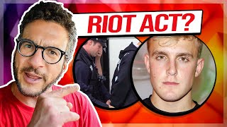 Jake Paul Made a HUGE Mistake during George Floyd Protests - Viva Frei Vlawg