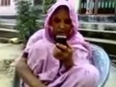 Desi Women Talking On Mobile  Phone video