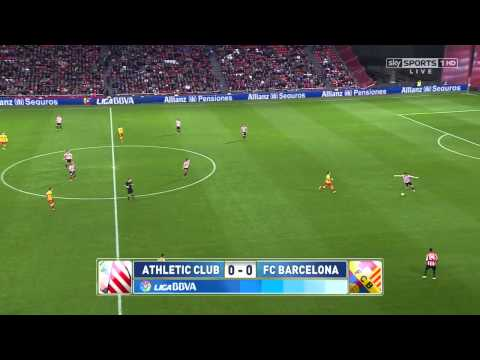 Atheltic Bilbao Barcelona Highlights HD 01.12.2013