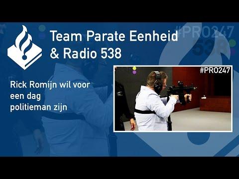 Politie #PRO247 Rick Romijn mee met Team Parate Eenheid Rotterdam