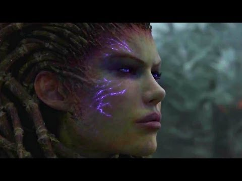 StarCraft 2: Heart of the Swarm - Intro-Video / Intro Cinematic